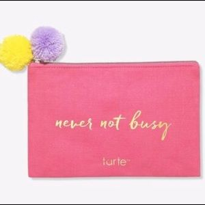 Never Not Busy Makeup Bag